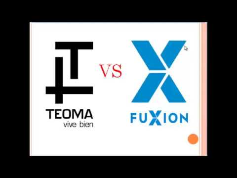 Teoma vs Fuxion. ¿Cansado de perder puntos MULTINIVEL todas las semanas?