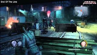S+ Rank - Resident Evil Operation Raccoon City - End Of The Line - Professional - Walkthrough