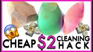 HACK: How To Clean Makeup Sponges | Ruby Golani