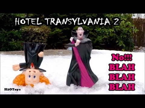 Hotel Transylvania 2: No Blah Blah Blah Dennis & Grandfather play in the snow Disney Pixar