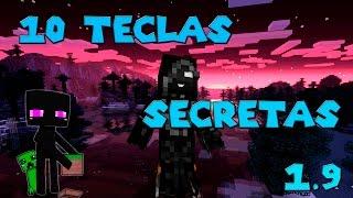 10 Teclas Secretas de Minecraft 1.9