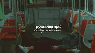 travis scott, goosebumps //8D (slowed + reverb)