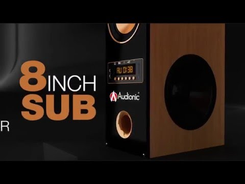 Audionic Cooper 7 - Best Wireless Bluetooth Home Theater/LED Speakers