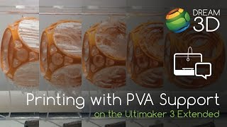 Ultimaker 3 Extended - Dissolvable PVA Support Material | Dream 3D