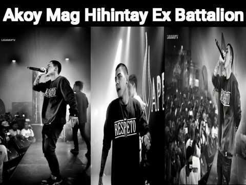 Ex Battalion - Akoy Mag Hihintay ( Bosx1ne & Skusta Clee ) Lyrics
