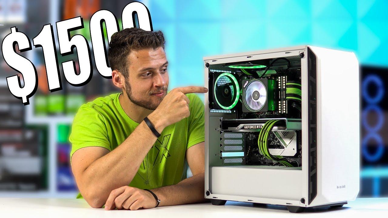 00 Gaming PC Build 2020! - Ryzen 7 3700X + RTX 2080 Super (w/ Benchmarks)