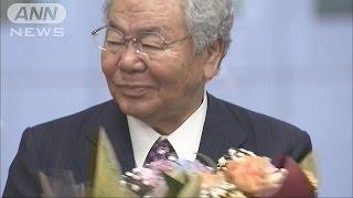 """きょうで""""引退""""の都議会ドン 都政関与に意欲示す(17/06/07)"""