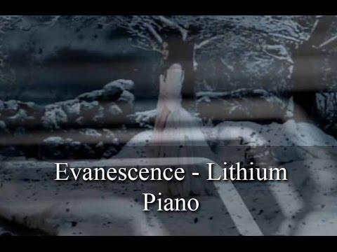 Evanescence - Lithium - Piano