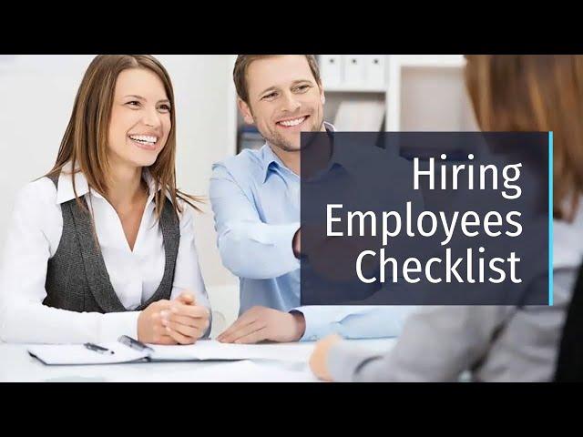 Hiring Employees in Australia Cheklist