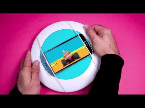 Tech tricks: frisbee steering wheel