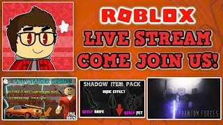 🔥 VOTE FOR ME IN THE BLOXYS! ROBLOX LIVE STREAM! 🔥