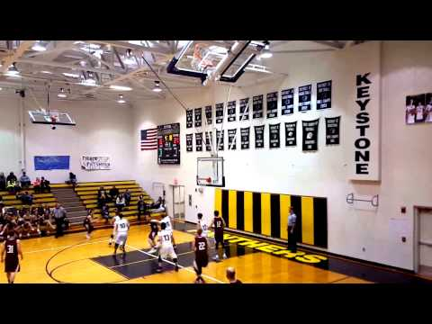 12/30/15 Tylor Ziegler Cranberry from 3-point range