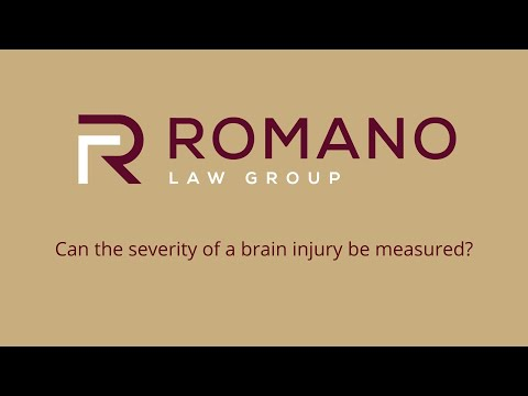 Can the severity of a brain injury be measured?