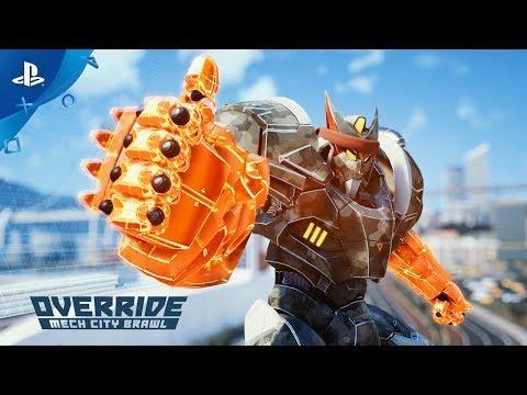 Override: Mech City Brawl - Launch Trailer | PS4