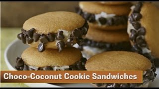 Desserts in a Snap Choco Coconut Cookie Sandwiches Thumbnail