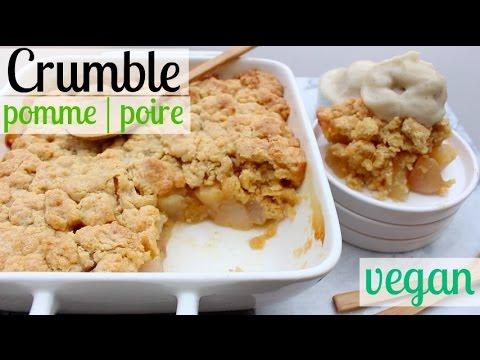 crumble-pomme-&-poire-vegan-|-facile-&-délicieux