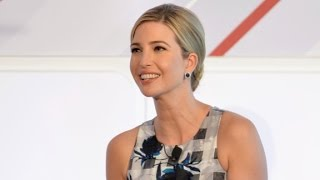 Ivanka Trump defends her father
