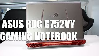 Asus ROG G752VY Gaming Notebook Allround-PC.com