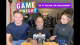 Game Night Is It Niche or Designer with Frag-Mental & Curly Scents + GIVEAWAY (CLOSED)