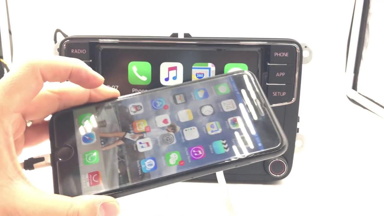 new version carplay rcd330g plus app iphone carplay 187 b 6rd 035 187b youtube. Black Bedroom Furniture Sets. Home Design Ideas