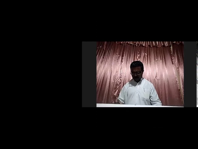 Pray Without Ceasing - Tamil Sermon By Pastor R. Kumar
