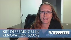 Orlando Mortgages: Key Differences in Renovation Loans