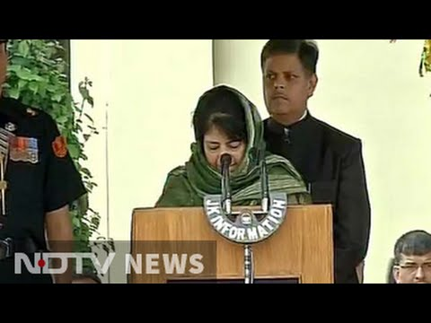 Mehbooba Mufti sworn in as first woman Chief Minister of Jammu and Kashmir Mp3