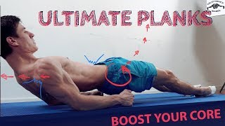 ULTIMATE PLANKS! TOP 5 TO BOOST YOUR CORE!