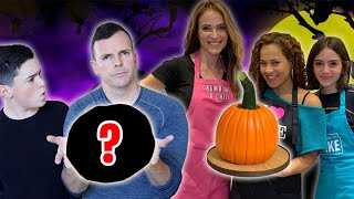 HALLOWEEN CAKE BATTLE GONE WRONG!! (feat. How To Cake It)