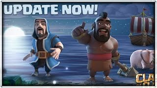 THE BIGGEST CLASH OF CLANS UPDATE EVER IS HERE! Testing The Update!