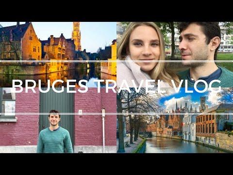 BRUGES TRAVEL VLOG    Travel Vlog 009