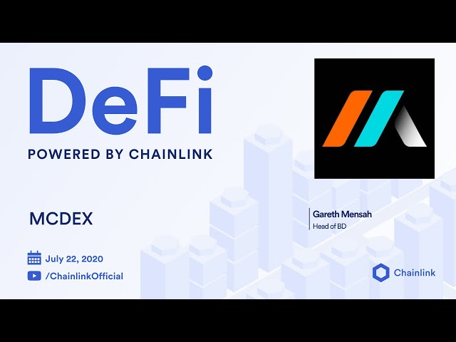 MCDEX and Chainlink Live Q&A: Decentralized Oracles Powering Perpetual Swaps