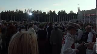 """00164 Noslēguma koncerts """"Zvaigžņu ceļā"""" un kopēja sadziedāšanās 08.07.2018"""