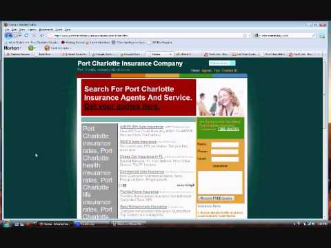 Cheap Insurance Quotes | Rates In Port Charlotte Florida