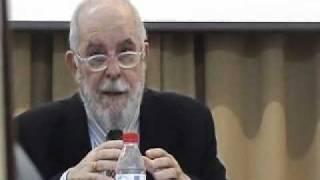 """Dr. Gil Fernández, """"Problemas del arte poética de Horacio"""". Cádiz, 24 de nov. del 2010."""
