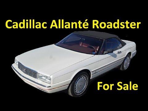 Cadillac Allanté Convertible Pininfarina  Roadster 1 Owner Exterior Video Review