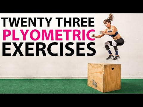 Plyometric Exercises  – 23 Plyometric Variations