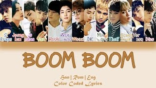 SEVENTEEN - BOOM BOOM (붐붐) [HAN|ROM|ENG Color Coded Lyrics]