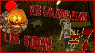 Mrs. Samantha Roblox Spooky Games. :) #7