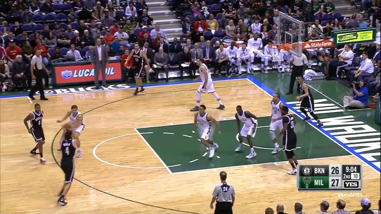 20161030 Nets VS Bucks Jeremy Lin for 3 - YouTube