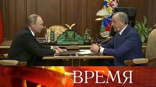 Владимир Путин принял отставку губернатора Саратовской области Валерия Радаева.