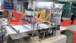 automatic plastic spoon making machine