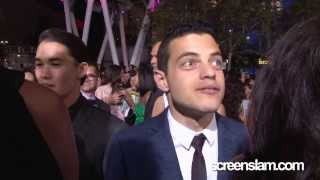 Rami Malek Attends The Twilight Saga's Breaking Dawn Part 2 Premiere in LA (Nov 2012)