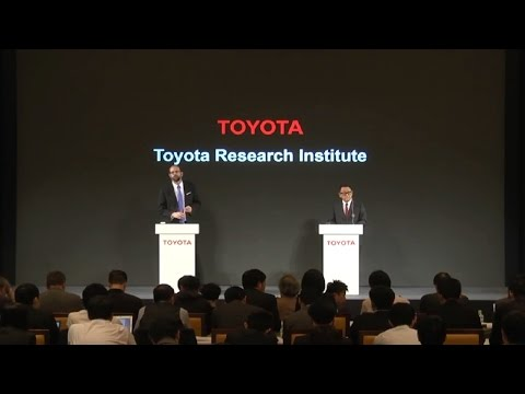 Toyota Press Conference: Research and development of artificial intelligence