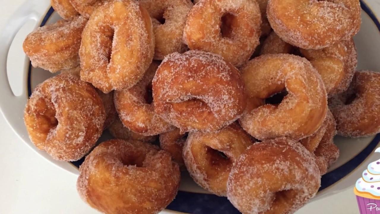 Ricetta Taralli Con Zucchero.Taralli Di Patate Fritti Con Lo Zucchero Ricetta Semplice Veloce Youtube