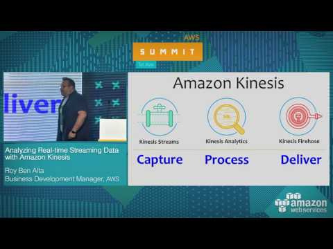 AWS Summit Tel Aviv 2017: Analyzing Real-time Streaming Data with Amazon Kinesis