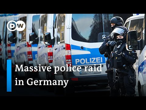 Green Vault heist solved? Suspects arrested in massive police raid   DW News
