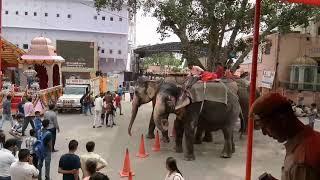 Moti dugri ganesh temple jaipur mela jhanki 26-8-2017