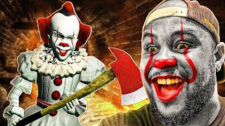 Playing GTA 5 As PENNYWISE 'IT' CLOWN! (Mods)