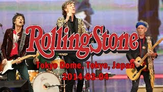 The Rolling Stones - Tokyo Dome, Tokyo, Japan - 2014-03-04